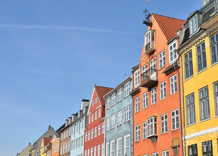 Copenhagen Greeting Card featuring the photograph Monument In Copenhagen - Denmark by Aleksandar Mijatovic