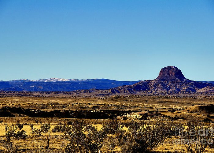 Monument Valley Greeting Card featuring the photograph Monument Valley Region-arizona V2 by Douglas Barnard