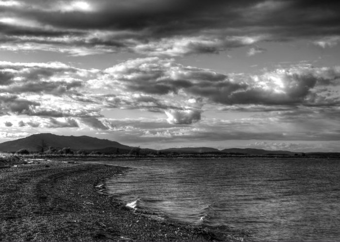 Rv Park Greeting Card featuring the photograph Moody Moment by Dorothy Hilde
