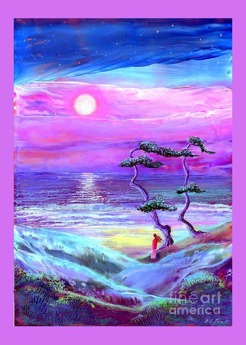 Ethereal Beach Scene Greeting Cards