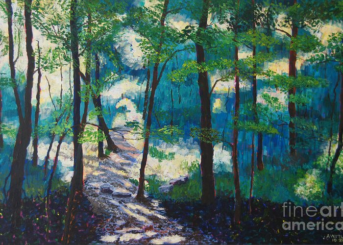 Percy Warner Park Greeting Cards