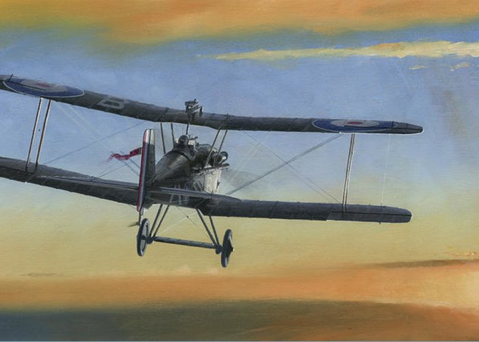 Se5a Greeting Card featuring the painting Morning Serenade by Wade Meyers