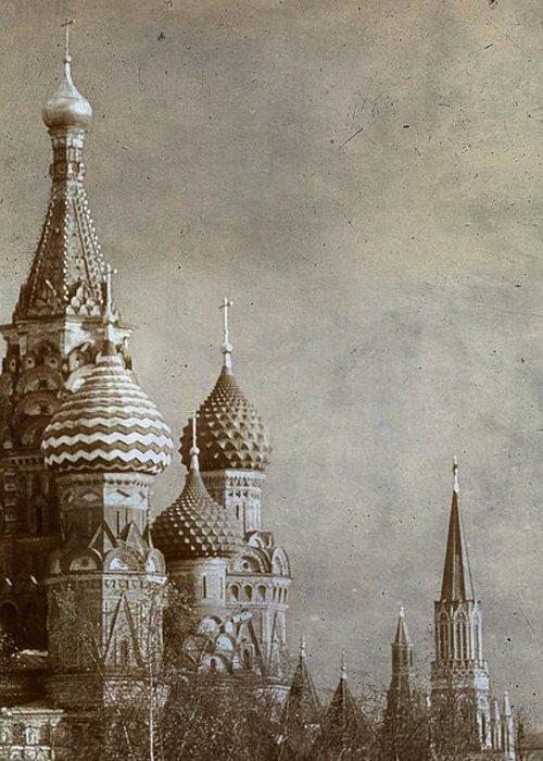 Outdoors Greeting Card featuring the photograph Moscow by Bernard Jaubert