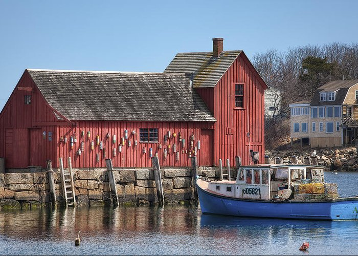 Motif Number 1 Greeting Card featuring the photograph Motif Number 1 by Eric Gendron