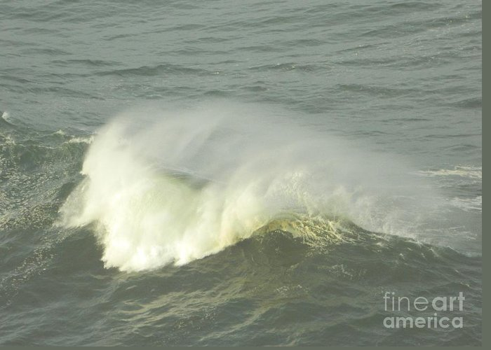 Ocean Greeting Card featuring the photograph Motion by Gallery Of Hope