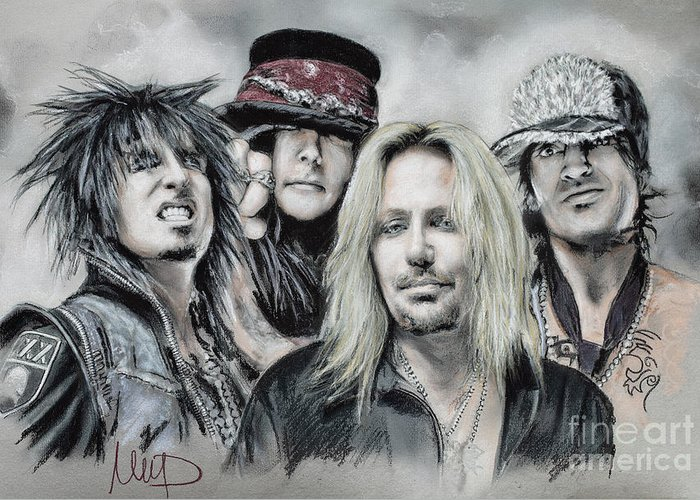 Vince Neil Greeting Cards