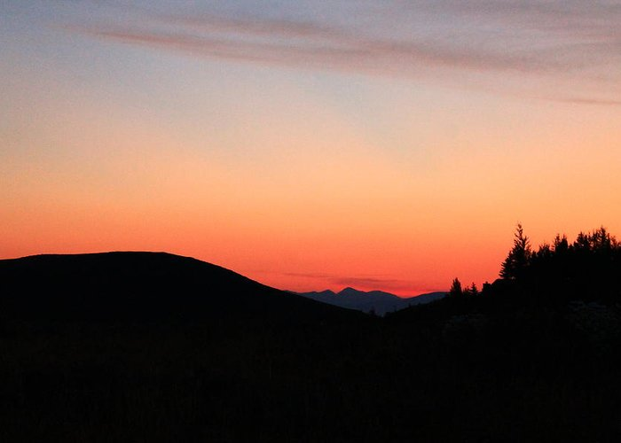 Jackson Hole Greeting Card featuring the photograph Mountain Sunrise by Catie Canetti