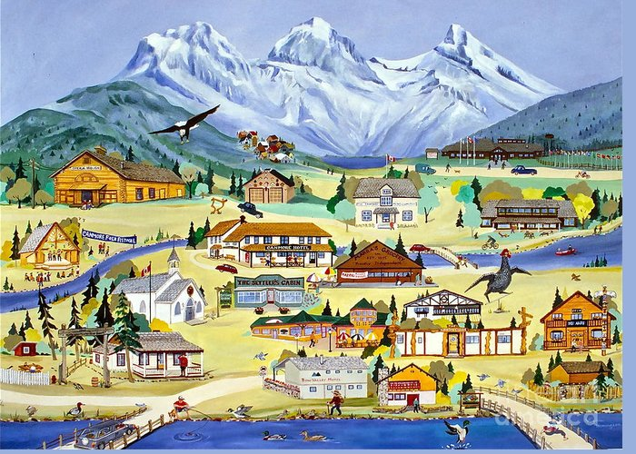 Canmore Artist Greeting Cards