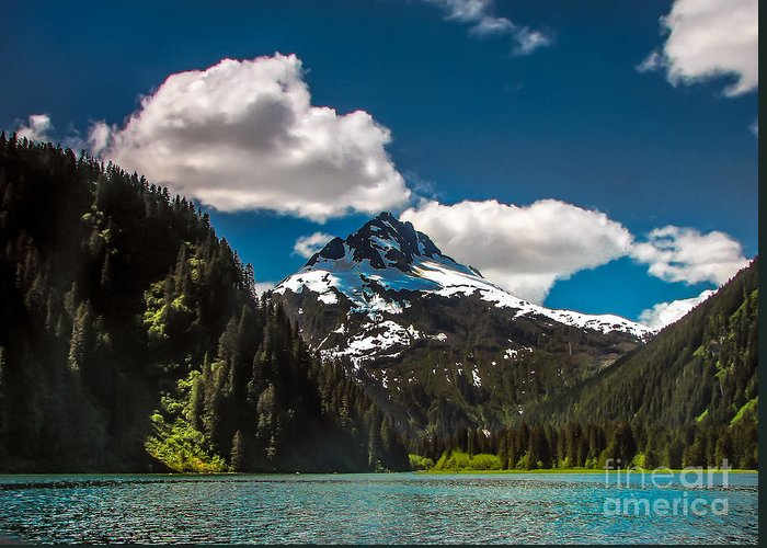 Alaska Greeting Card featuring the photograph Mountain View by Robert Bales