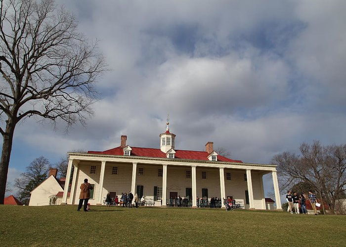 Mt Greeting Card featuring the photograph Mt Vernon - 01136 by DC Photographer