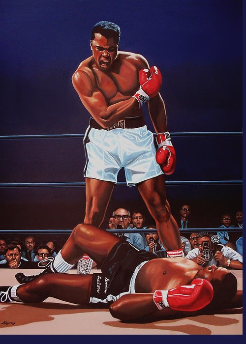Champions Paintings Greeting Cards