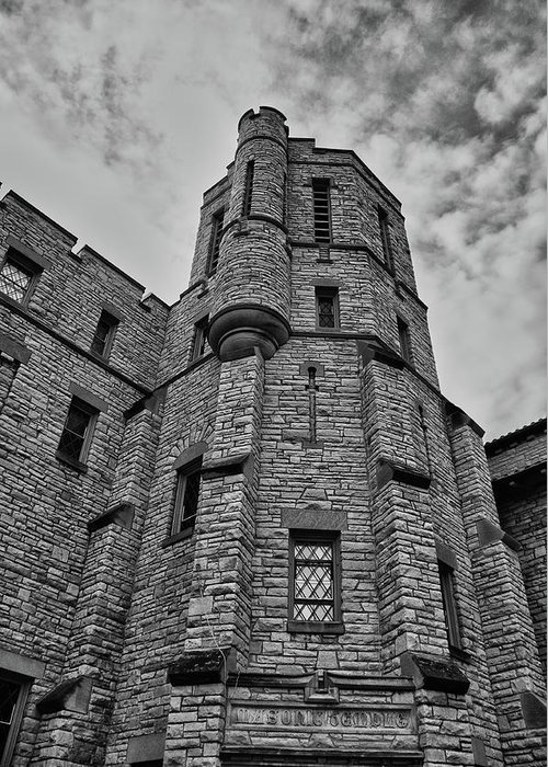 Appleton Greeting Card featuring the photograph Museum At The Castle 8301 by Guy Whiteley