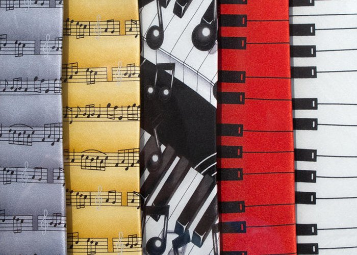 Music Greeting Card featuring the photograph Musical Motifs by Ann Horn