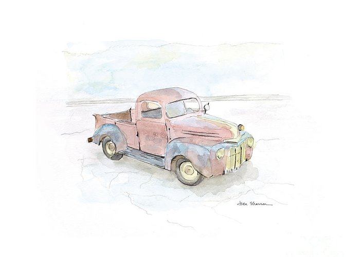 Old Trucks Greeting Cards
