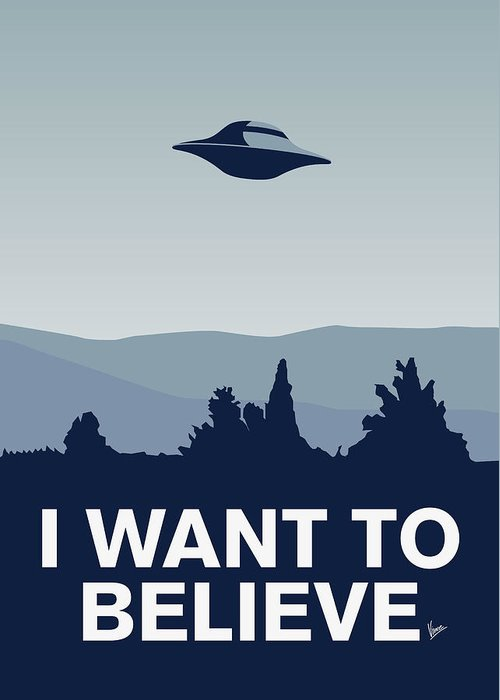 X Files Greeting Cards