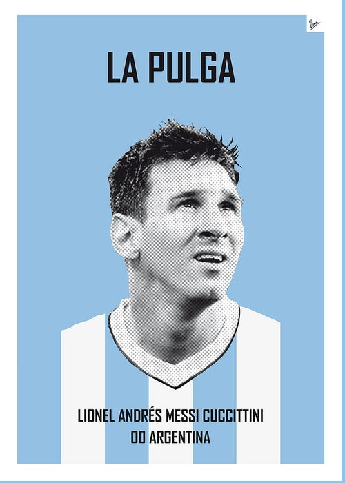 Messi Greeting Cards