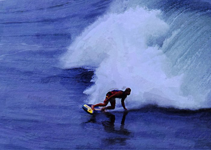 My Wave Greeting Card featuring the photograph My Wave by Ron Regalado
