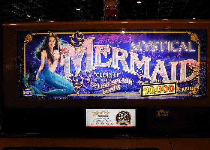 Mystical mermaid slot machine for sale poker zasady gry na pieniЖ'Г–dze