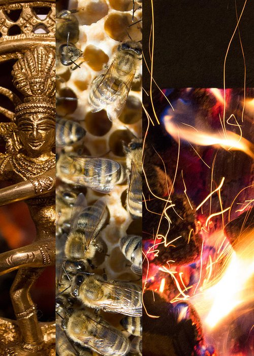 Greeting Card featuring the photograph Nataraja IIi by Duomo Photography