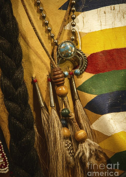 Indian Greeting Card featuring the photograph Native by Margie Hurwich
