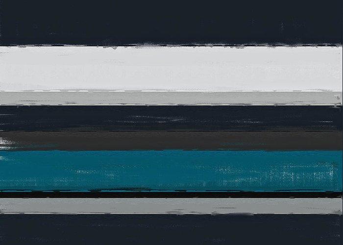 Dark Gray Blue Greeting Cards