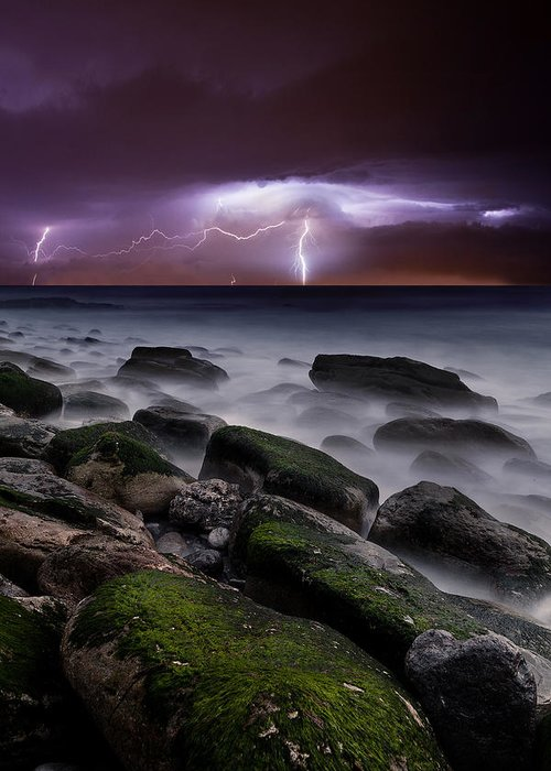 Landscape Greeting Card featuring the photograph Nature's Splendor by Jorge Maia