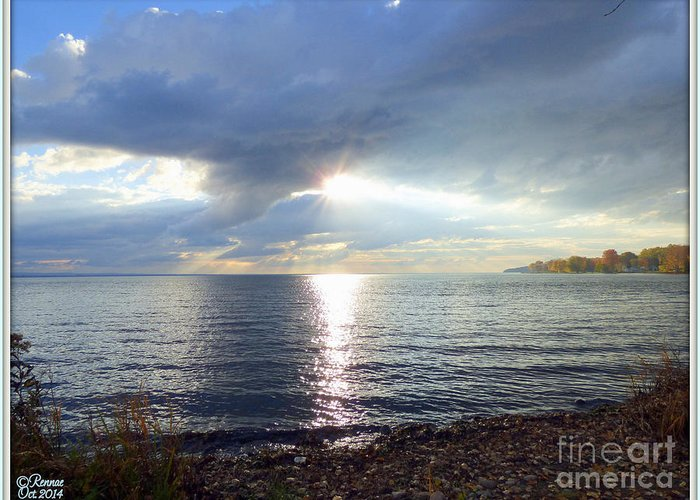 Lake Greeting Card featuring the photograph Nature's Voice Three by Rennae Christman