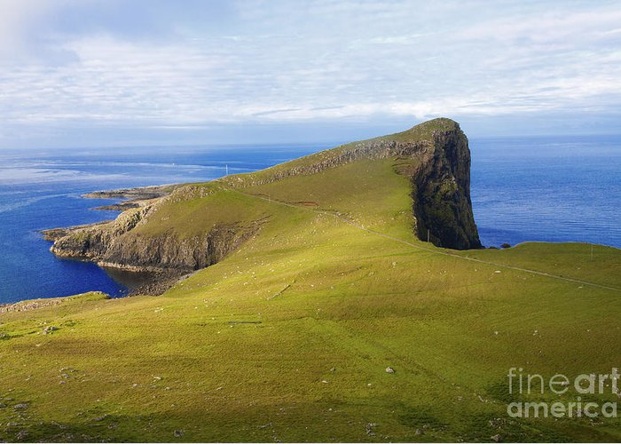 Neist Point Greeting Card featuring the photograph Neist Point by Diane Macdonald