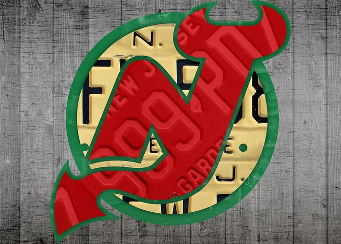 New Jersey Devils Greeting Cards