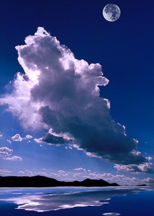 New Greeting Card featuring the photograph New Mexico Sky by Jerry McElroy