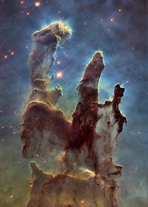 Eagle Nebula Greeting Cards