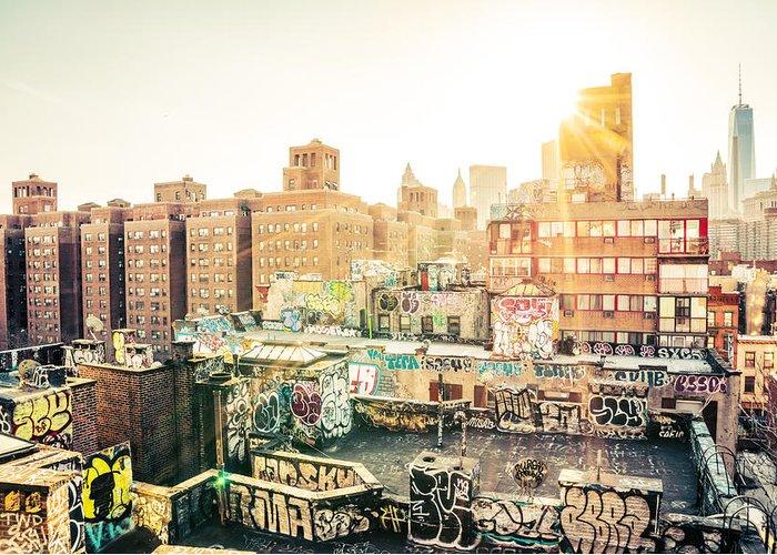 New York City Graffiti Greeting Cards