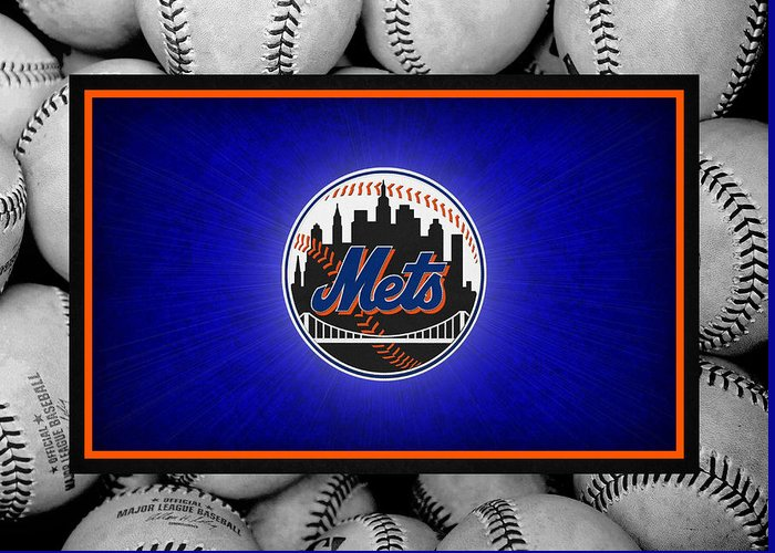 Mets Greeting Card featuring the photograph New York Mets by Joe Hamilton
