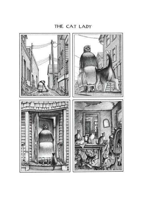 Morph Drawings Greeting Cards