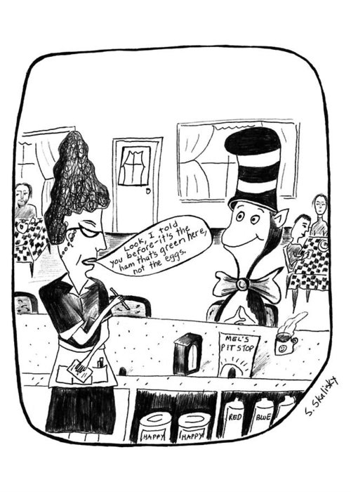 Cat In The Hat Greeting Cards