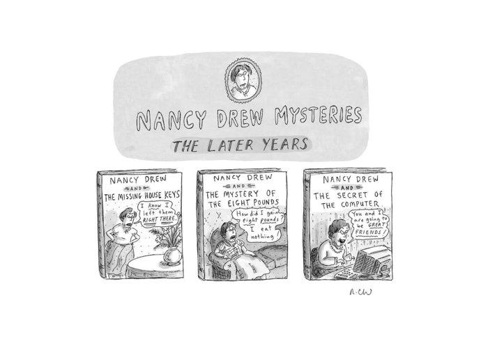 Nancy Drew Greeting Cards