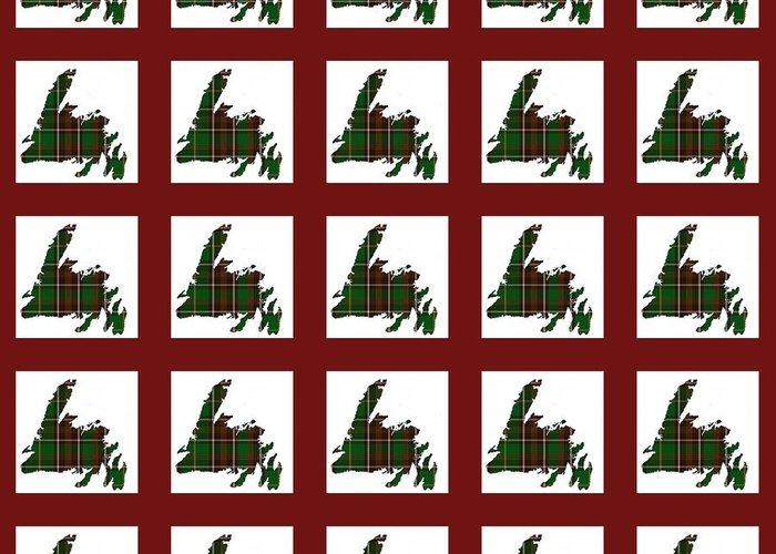 Newfoundland Tartan Quilts Greeting Cards