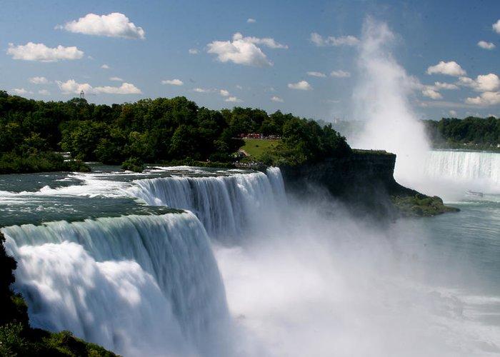 Niagara Falls Greeting Card featuring the photograph Niagara Falls by Sandy Fraser