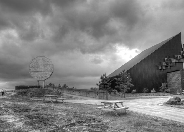 Greeting Card featuring the photograph Nickel Rd by Matthew Barton