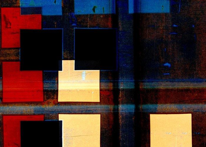 Evening Lights Digital Art Greeting Cards