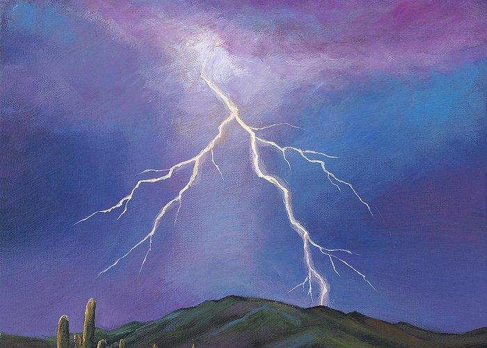 Phoenix Lightning Greeting Cards