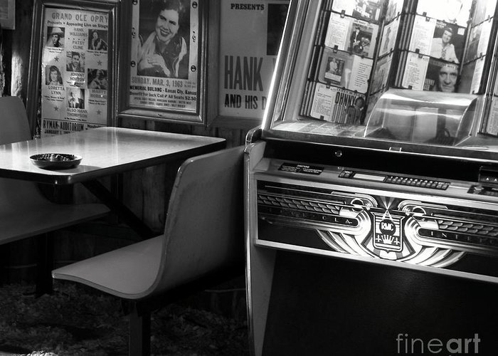 Jukebox Greeting Card featuring the photograph Nights Gone By by Joe Jake Pratt