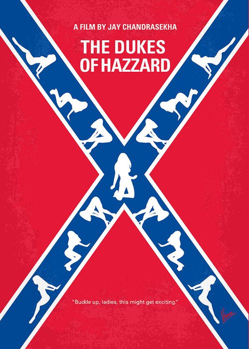 Hazzard County Greeting Cards