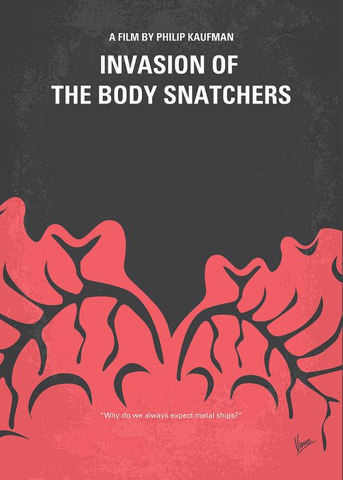 Invasion Of The Body Snatchers Greeting Cards