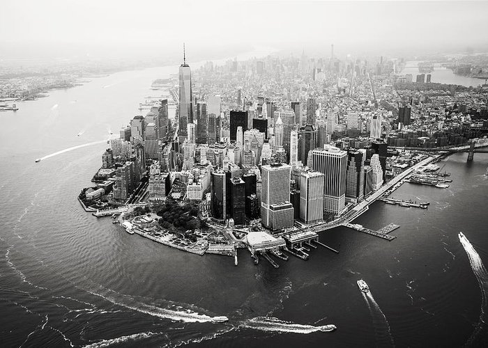 Aerial Photographs Greeting Cards