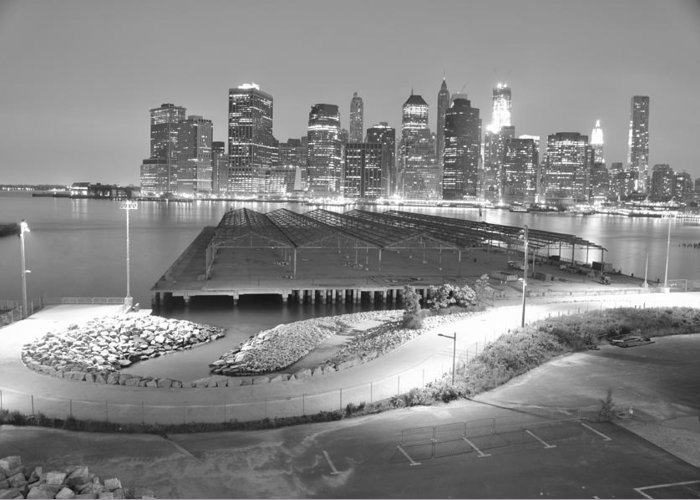 Nyc Greeting Card featuring the photograph Nyc New York/ Manhatten by Alex Pochinok