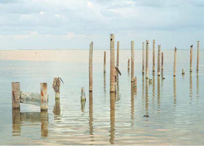 Belize Greeting Card featuring the photograph Oceanic Tranquility 2 by Zina Zinchik