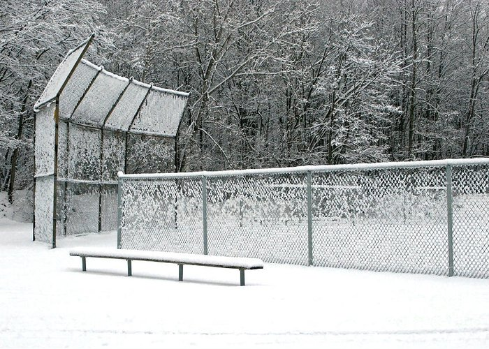 Winter Greeting Card featuring the photograph Off Season by Ann Horn