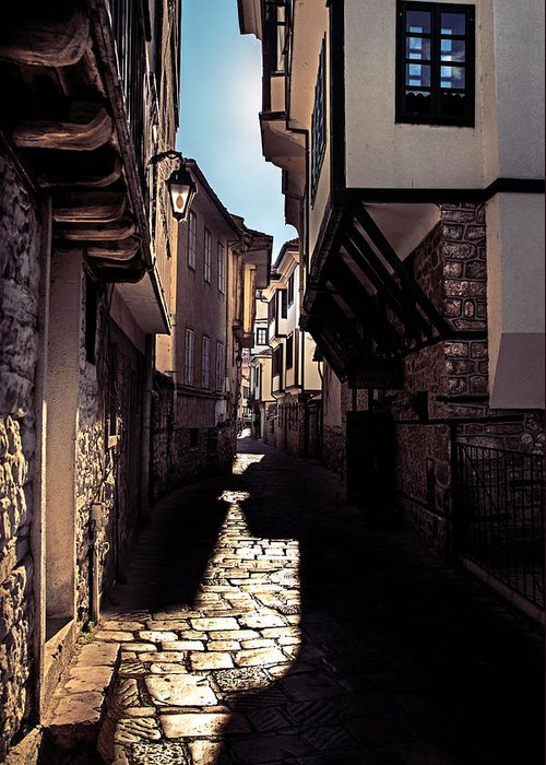 Ohrid Greeting Card featuring the photograph Ohrid Streets by Ivan Vukelic