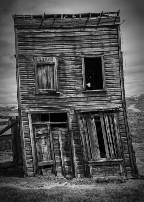 Bodie Greeting Card featuring the photograph Old Bodie Building by Garry Gay